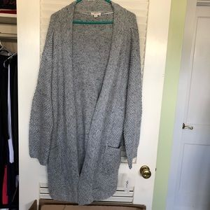 ☀️ NWT Style&Co marbled cardigan sweater w/ pocket